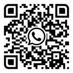 qr-code to order a taxi via WhatsApp