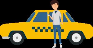 Taxifahrer mit best.ways.driver